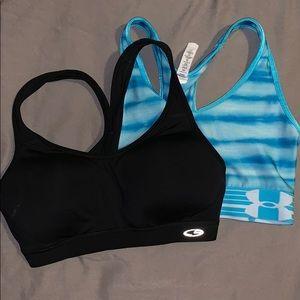Sports bra bundle xs